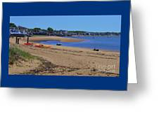 Life's A Beach In Provincetown Cape Cod Greeting Card