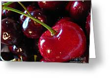 Life's A Bowl Of Cherries Greeting Card