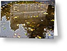 Lifes Past Reflection Greeting Card