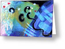 Light 3 Greeting Card