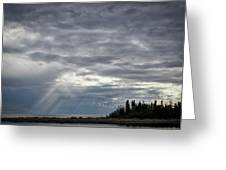 Light After The Storm Greeting Card