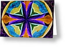 Light And Color 2309 Greeting Card