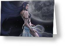 Light And Darkness Greeting Card