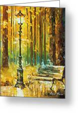 Light And Passion Greeting Card