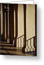 Light And Shadows Greeting Card