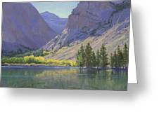 Light At Parker Lake Greeting Card