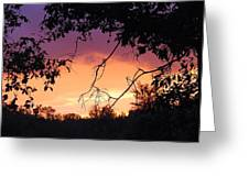 Light At The End Of The Storm  Greeting Card