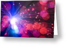 Light Burst-2 Greeting Card