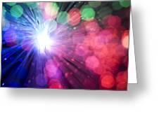 Light Burst-5 Greeting Card
