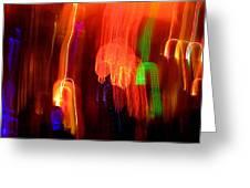 Light Falling Greeting Card by Elizabeth Hoskinson