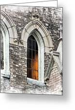 Light From Within, Gothic Church Architecture Greeting Card