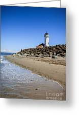 Light House - Port Townsend, Wa Greeting Card