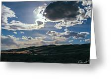Light In The Distance Greeting Card