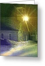 Light In The Night Greeting Card