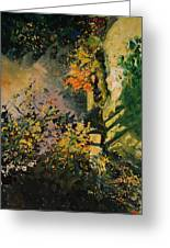 Light In The Wood  Greeting Card