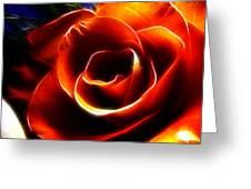 Light Kisses Greeting Card