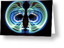 Light Mask Greeting Card