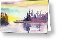 Light N River Greeting Card