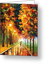 Light Of Autumn Greeting Card