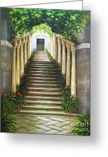Light Of Italy Greeting Card