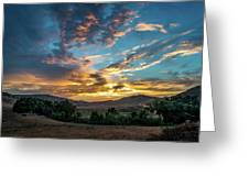 Light Over Hollenbeck Greeting Card