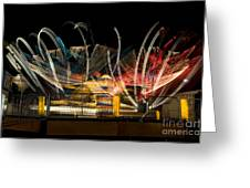 Light Spin Greeting Card