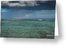 Light Through The Rain Greeting Card