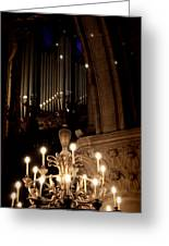 Light Up The Pipes Greeting Card