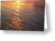 Light Waves Greeting Card