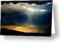 Lightbeam  Greeting Card