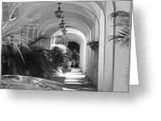 Lighted Arches Greeting Card
