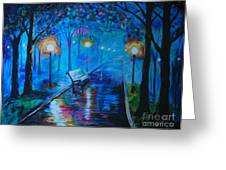 Lighted Parkway Greeting Card
