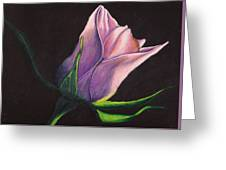 Lighted Rose Greeting Card