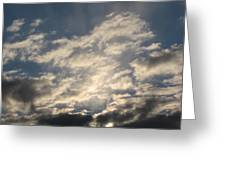 Lighted Sky Greeting Card