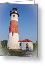 Lighthouse And Entry Greeting Card