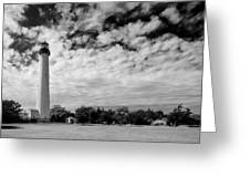 Lighthouse And Sky Greeting Card