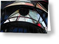 Lighthouse At Cape Meares Greeting Card