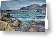 Lighthouse At Kalk Bay Cape Town South Africa 2016 Greeting Card