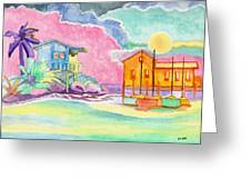 Lighthouse Cove Greeting Card