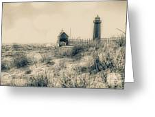 Lighthouse Fade Greeting Card