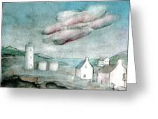 Lighthouse Harbour 1 Greeting Card