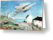 Lighthouse Harbour 3 Greeting Card