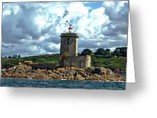 Lighthouse Ile Noire Greeting Card