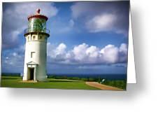 Lighthouse Impression Greeting Card