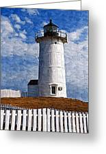 Lighthouse Keepers Dwelling Greeting Card