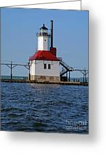 Lighthouse Restored Greeting Card