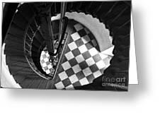 Lighthouse Spiral Greeting Card
