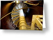 Lighthouse Stairway Greeting Card