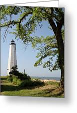 Lighthouse Summer Greeting Card