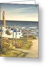Lighthouse Uruguay  Greeting Card